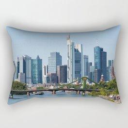 Frankfurt Skyline Rectangular Pillow
