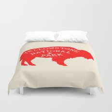 Yellowstone National Park  Duvet Cover