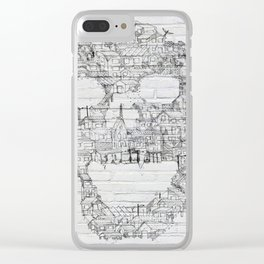 Shantytown Walls Clear iPhone Case