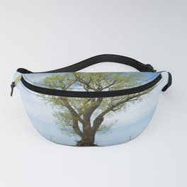 tree on the water Fanny Pack