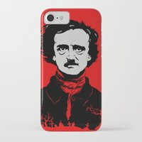 poe iPhone & iPod Cases featuring POE by Eric Thorpe-Moscon Designs