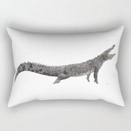 American Crocodile Rectangular Pillow