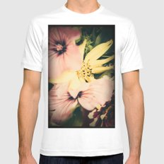 Flower bouquet... Mens Fitted Tee White MEDIUM
