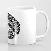sloth Mugs featuring Sloth by Emma Barker