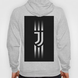 Juventus logo Stripes Hoody