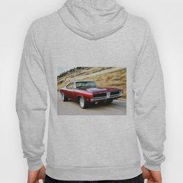 Vintage 1969 MOPAR 426 Hemi Charger Muscle Car Hoody