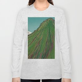 Summit Of An Inactive Volcano Long Sleeve T-shirt