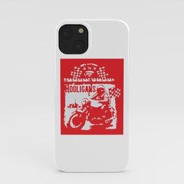 Hooligans iPhone Case