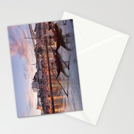 Oporto at dusk Stationery Cards