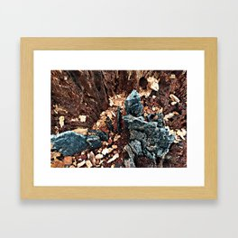 A tree asking, would you explore with me? Framed Art Print