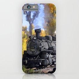 Cumbres and Toltec Railroad iPhone Case