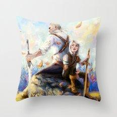 Happy Autumn Throw Pillow