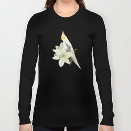 Pied Cockatiel Long Sleeve T-shirt