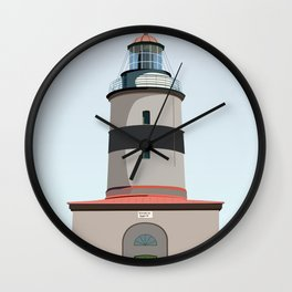 The lighthouse of Falsterbo Wall Clock