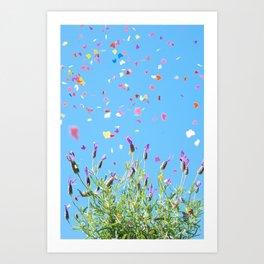 Butterflying Art Print