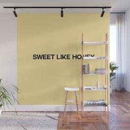 sweet like honey Wall Mural
