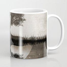 The lone Night reflex Coffee Mug