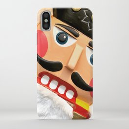 Nutcracker Christmas graphic Design iPhone Case