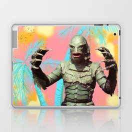 Creature of the pastel lagoon Laptop & iPad Skin