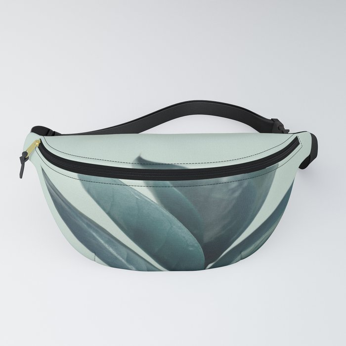Teal Mint Plant Fanny Pack