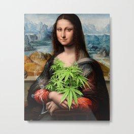 Mona Juana  Metal Print