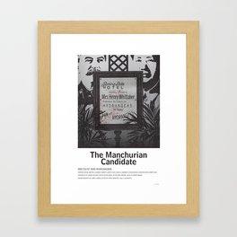 The Manchuran Candidate (1962) Framed Art Print