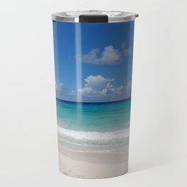 Caribbean beach Travel Mug