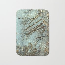Reflective imagination Bath Mat