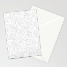 building pattern 2 Stationery Cards