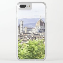Cathedral of Santa Maria del Fiore Clear iPhone Case