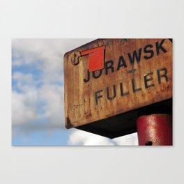 Veteran Mailbox Canvas Print