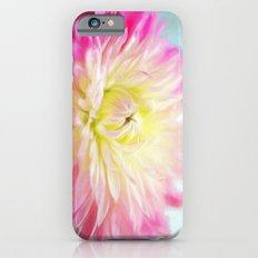 painted dahlia Slim Case iPhone 6s