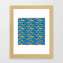 Bongos and bunting Framed Art Print
