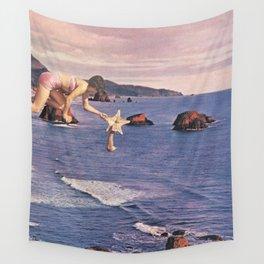 Starfishing Wall Tapestry