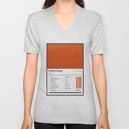 Channel Orange Tracklist Unisex V-Neck