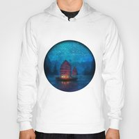 landscape Hoodies featuring Our Secret Harbor by Aimee Stewart