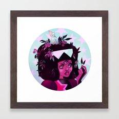 Garnet Framed Art Print