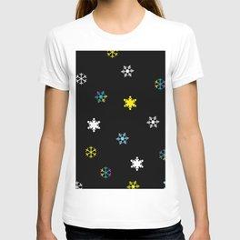 Snowflakes_C T-shirt