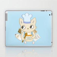 Cat is baking a Cake Laptop & iPad Skin