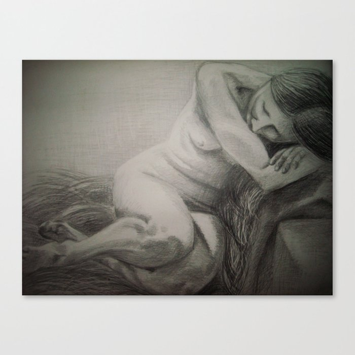 A repose / Puhkus Canvas Print