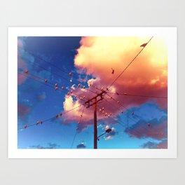 candied Art Print