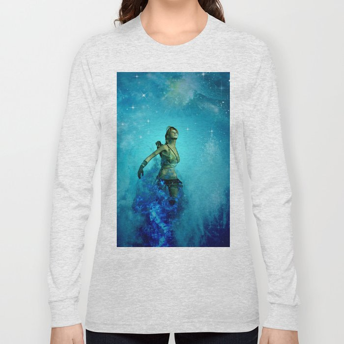 Fighter in the universe Long Sleeve T-shirt