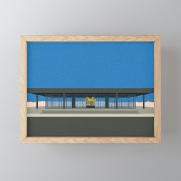 New National Gallery Berlin Framed Mini Art Print