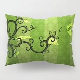 LEAVE - Summer Green Pillow Sham
