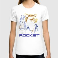 rocket T-shirts featuring Rocket by offbeatzombie