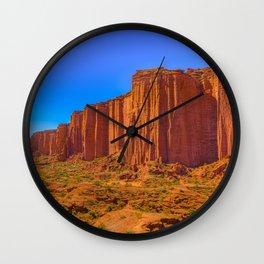 Talampaya National Park Landscape, La Rioja, Argentina Wall Clock