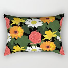 Flowerpower Rectangular Pillow