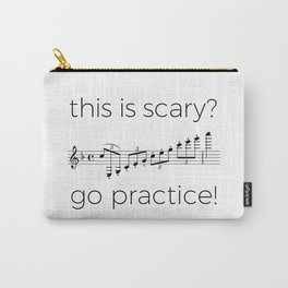 Go practice - clarinet Carry-All Pouch