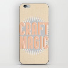 Craft Magic // Coral iPhone & iPod Skin