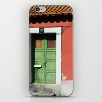 portugal iPhone & iPod Skins featuring Portugal, color by Sébastien BOUVIER